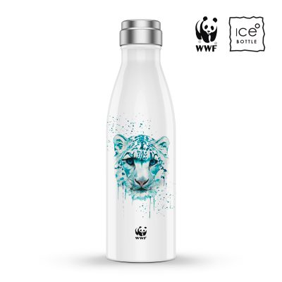 Snow Leopard - WWF/ICE Bottle Collaboration