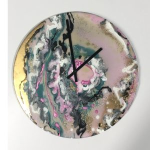 Abstract - Commissioned Clock