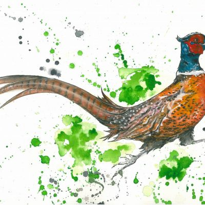 """Phileas Pheasant"" - SOLD"
