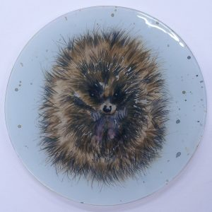 """Hector"" - Recycled Glass Wall Panel 20"" Diameter"
