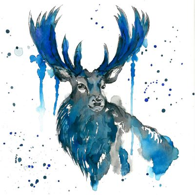 """Blue for You"" - Original Watercolour - Prints available"