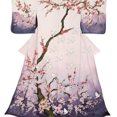 """Sadako's Kimono"" - SOLD - Original Watercolour"