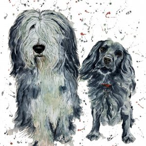 Bertie & Jasper - SOLD - Prints available