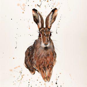 Hare - Original Watercolour -