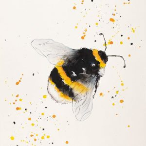 Bee - Original Watercolour