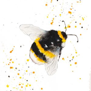 """Just Buzzing Around"" - Original Watercolour"